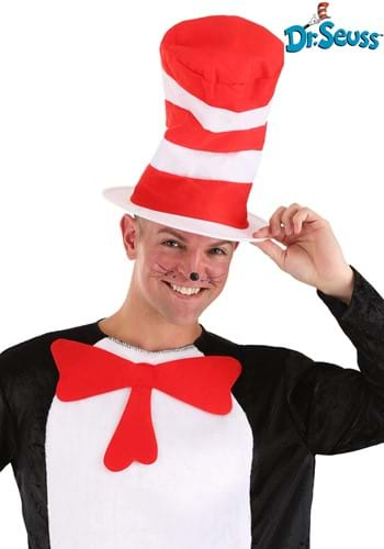 Cartoon Cat in the Hat Adult Hat