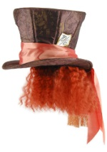 Mad Hatter Hat w/Wig