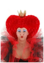 Queen of Hearts Red Wig