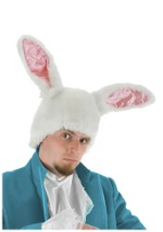 White Rabbit Bunny Ears