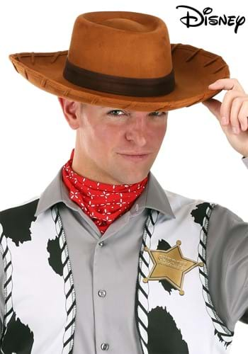 Adult Deluxe Woody Toy Story Hat