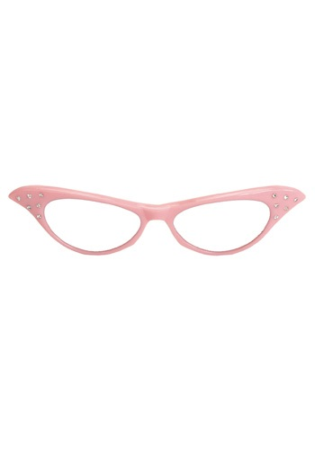 50s Pink Cat Eye Glasses