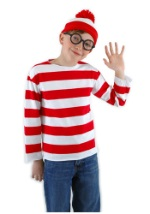 Waldo Kids Costume