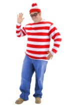 Where's Waldo Plus Costume