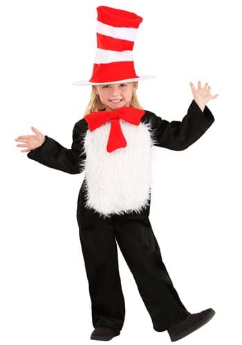 Toddler Deluxe Cat in the Hat Costume