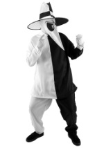 Deluxe Black Vs White Spy Costume
