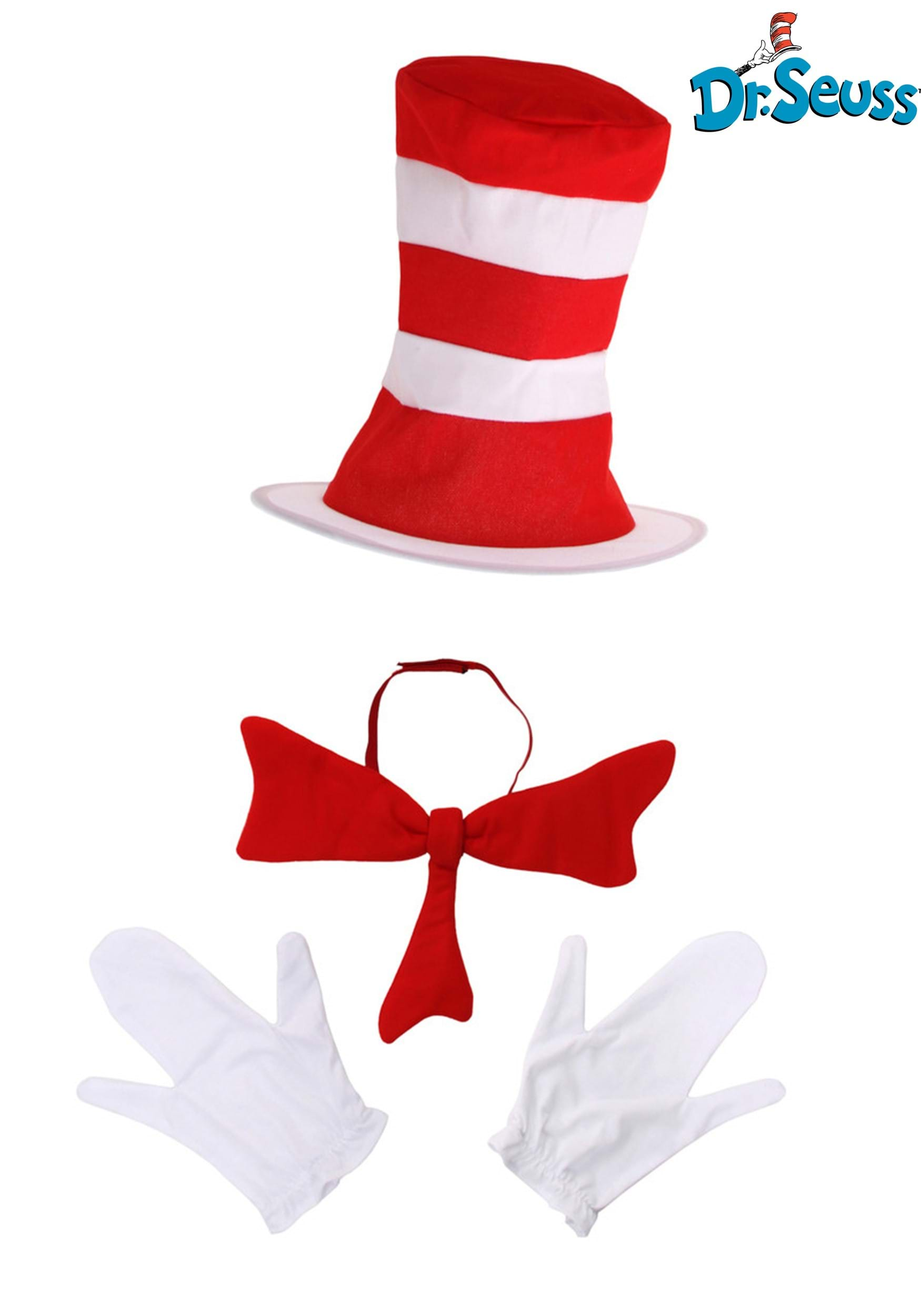 Cat In The Hat Costume Accessory Kit