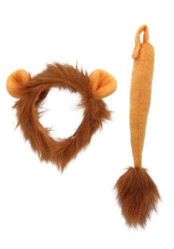 Lion Costume Ears and Tail