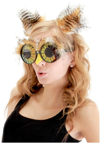 Owl Tufts and Glasses