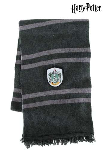 Knitted Slytherin Scarf