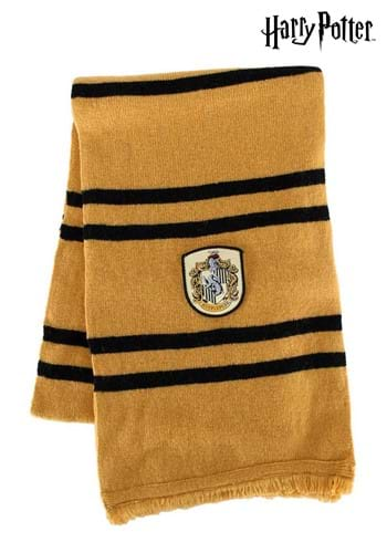 Knitted Hufflepuff Scarf