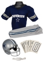 Boys Realistic NFL Cowboys Uniform Costume