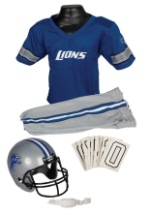 Boys NFL Lions Uniform Costume