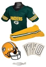 Kids NFL Packers Uniform Costume