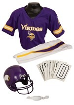 Kids NFL Vikings Uniform Costume