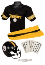 Boys NFL Steelers Uniform Costume