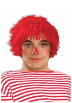 Red Rag Doll Boy Wig