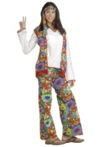 Adult Hippie Chick Costume