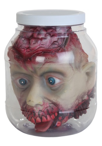 Head in a Specimen Jar