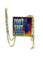 Zoot Suit Gold Chain Accessory