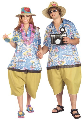Adult Tropical Vacation Costume