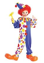 Childrens Clown Costume