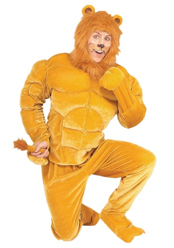 Muscle Chest Cowardly Lion