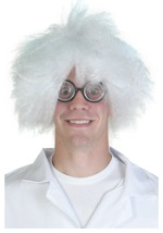 Mad Scientist Costume Wig
