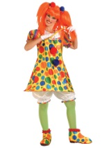 Womens Giggles Clown Costume