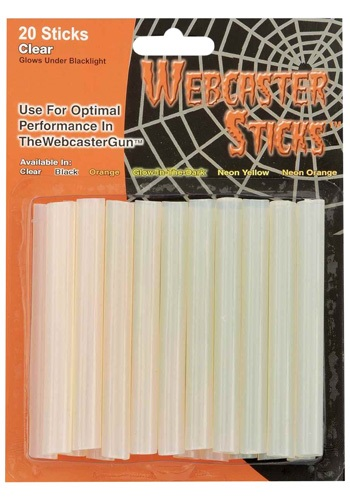 Clear Webcaster Sticks Pack