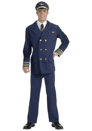 Adult Airline Captain Costume