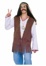 Men's Hippie Fringe Vest