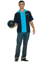 Mens Plus Size Bowling Shirt