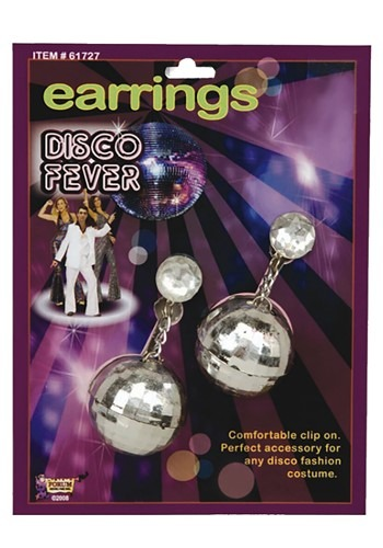 1970s Disco Ball Earrings
