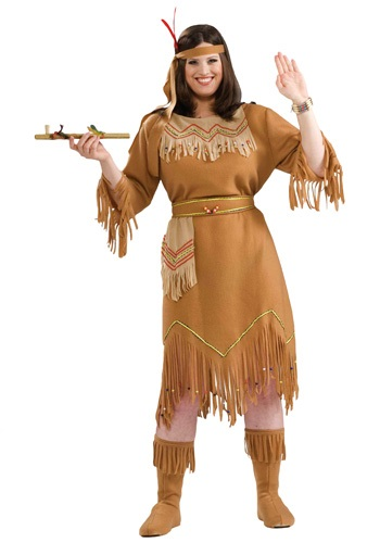 Women's Plus Size Indian Costume