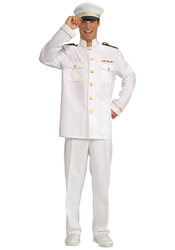 Mens Cruise Ship Captain Costume