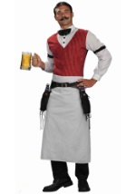 Adult Saloon Bartender Costume
