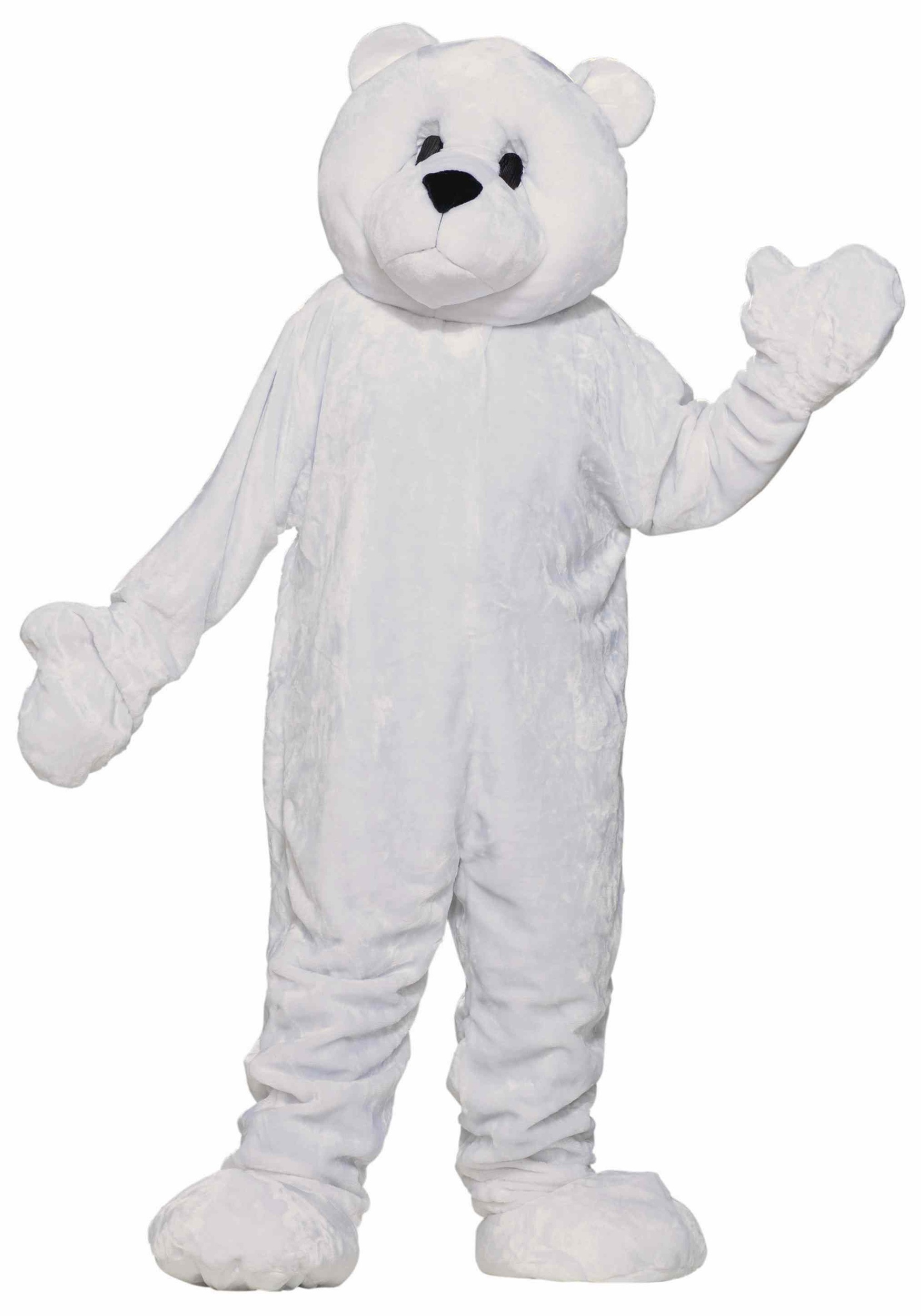 Adult Polar Bear Mascot Costume  sc 1 st  Halloween Costume Ideas & Adult Polar Bear Mascot Costume - Polar Bear Halloween Costume