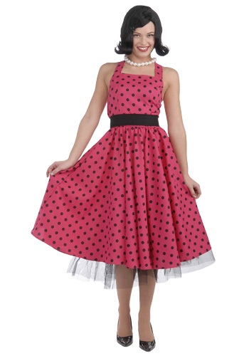 Polka Dot 50s Dress Costume