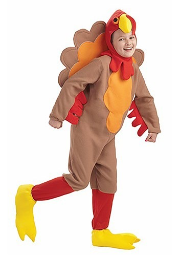 Childrens Turkey Costume