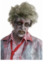 Business Man Zombie Wig