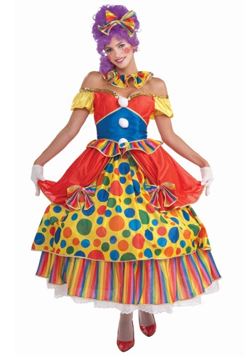 Big Top Princess Clown Costume