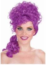 Big Top Belle Purple Clown Wig