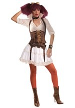 Steampunk Lady Costume