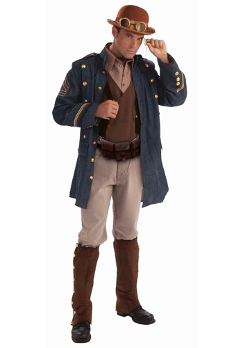 Steampunk Officer Costume
