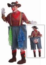 Mens Hoot and a Half Rodeo Clown Costume