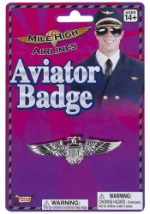 Aviator Wings Pin