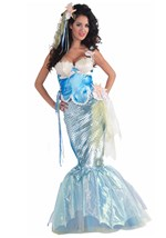Womens Seashell Mermaid Costume