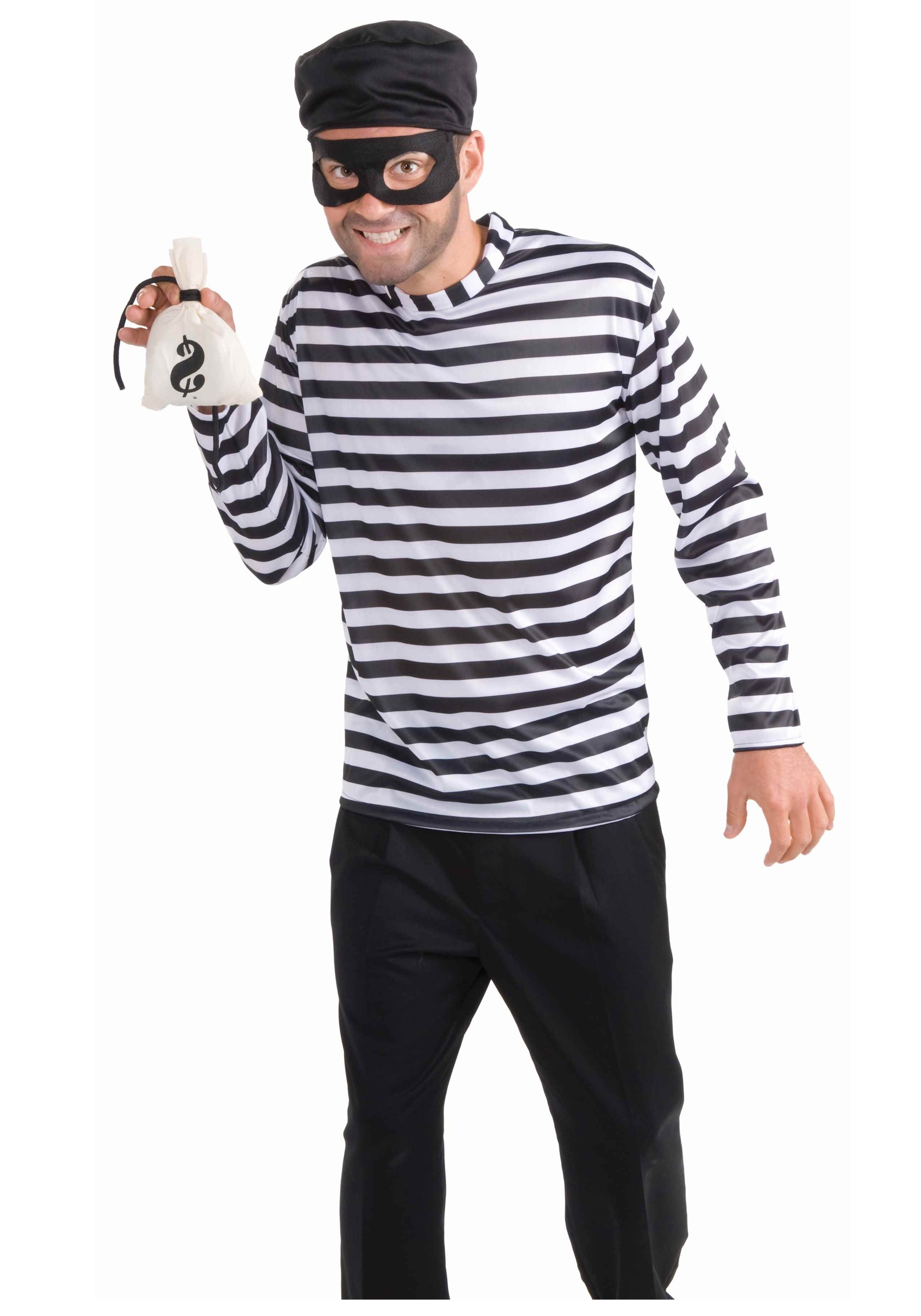 Bank Robber Costume  sc 1 st  Halloween Costume Ideas & Bank Robber Costume - Cheap Cop Costume Ideas