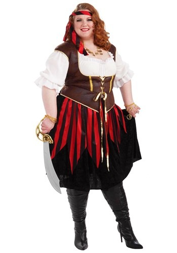 Plus Size Ladies Pirate Costume